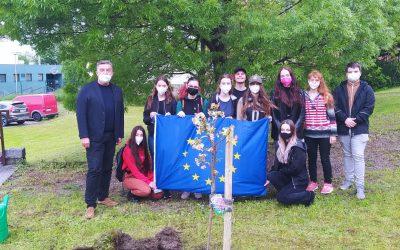 Projekt EPAS má svůj vlastní strom na školním pozemku